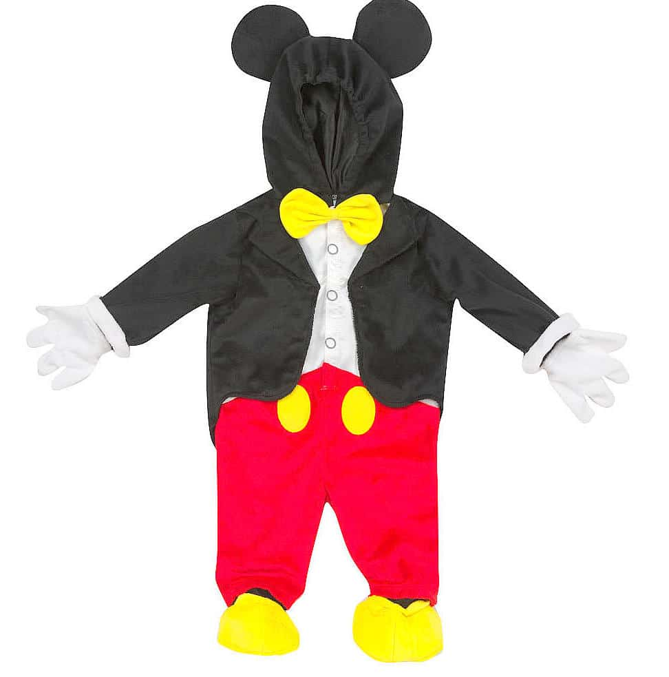Mickey Mouse Costume Idea