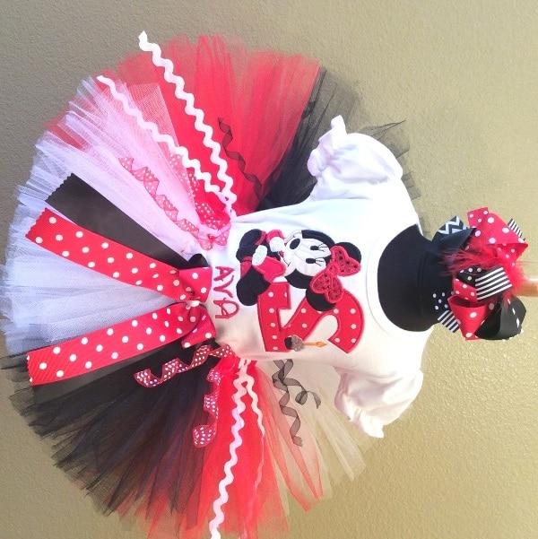 Online Minnie Mouse Birthday Dress