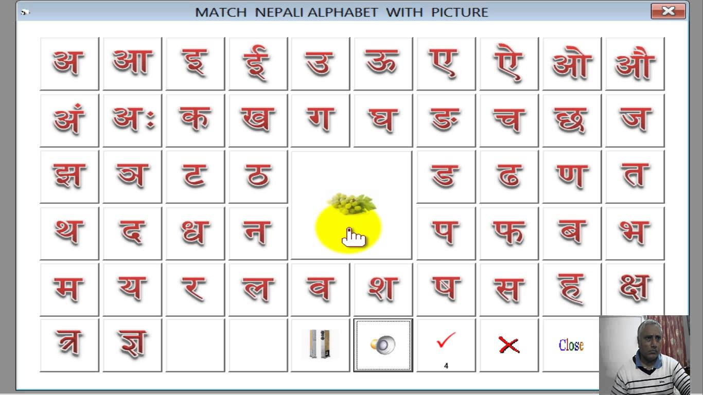 Nepali Alphabet