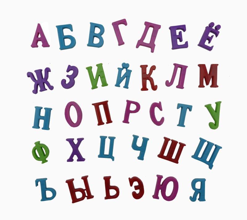 Russian Characters Symbol