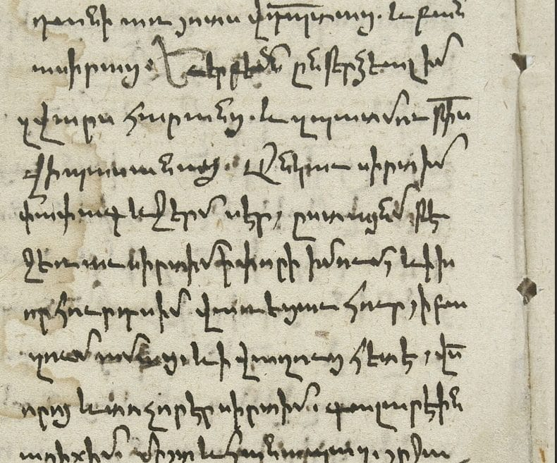 Save Armenian Script Chart