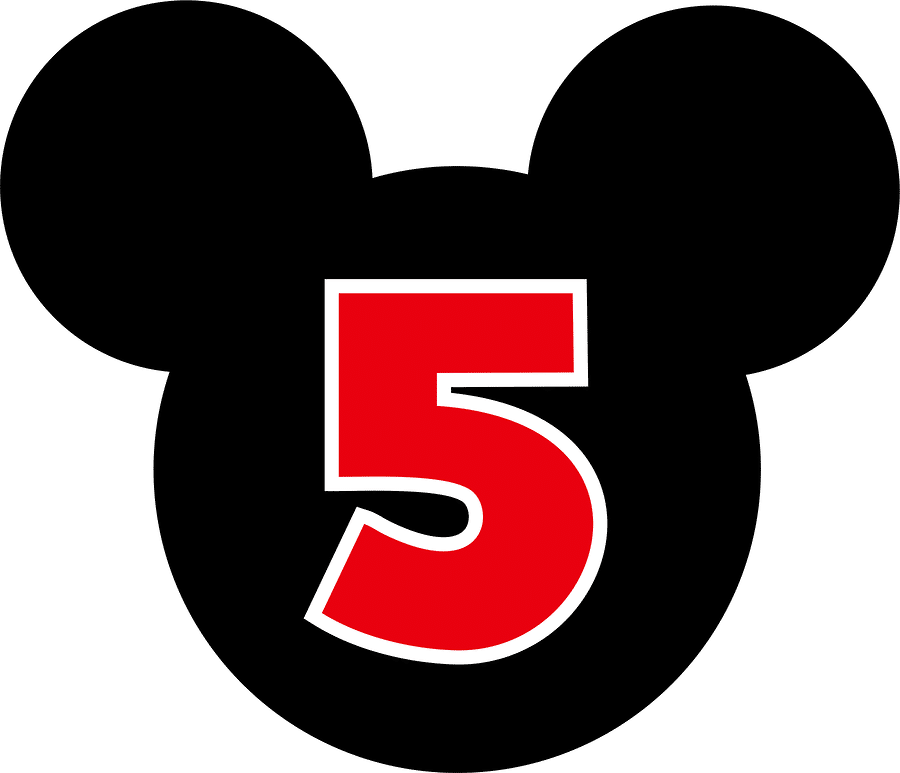 Save Mickey Mouse Head Design