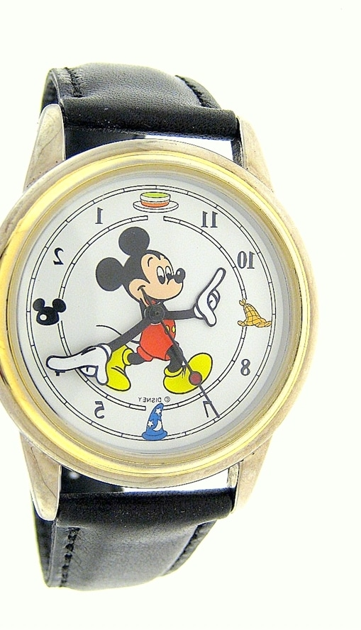 Save Mickey Mouse Watch Design