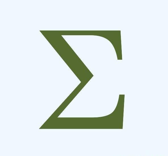 Save Sigma Greek Letter