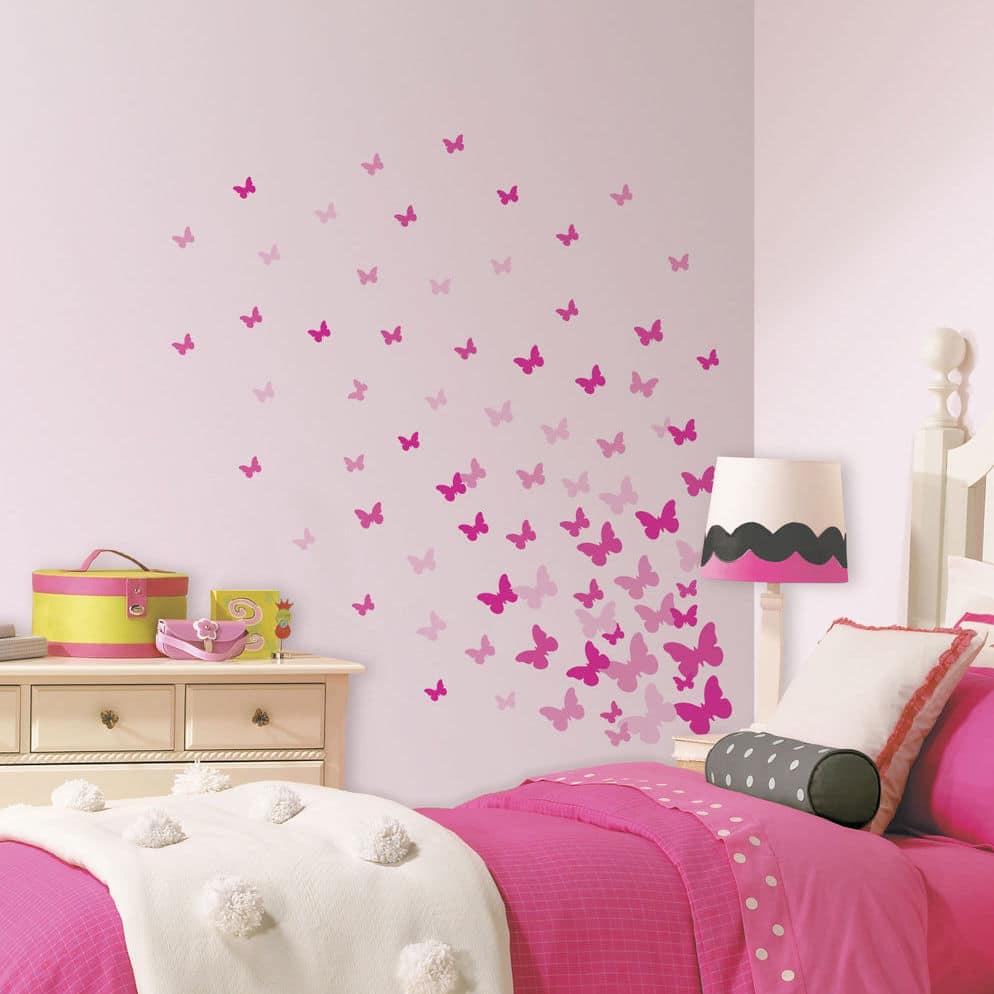 Modern Butterfly Wall Decor Idea