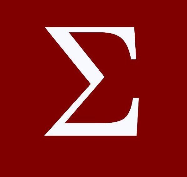 Sigma Greek Letter HD Image