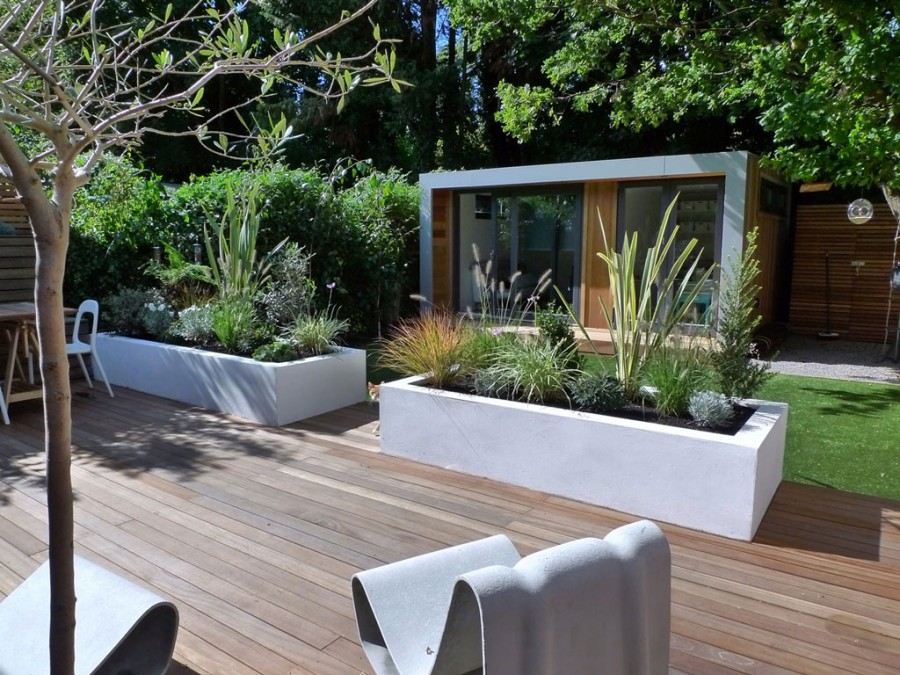 Simple Garden Design Idea