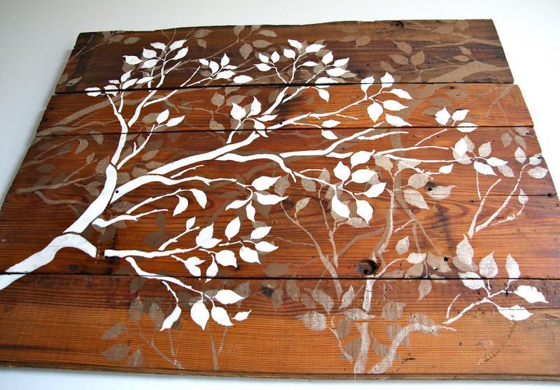 Simple Wood Wall Art