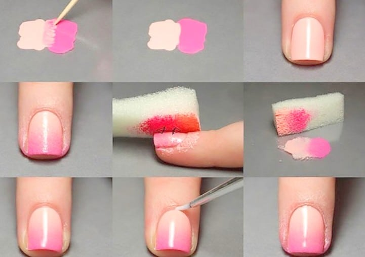 Simple Nail Art pictures