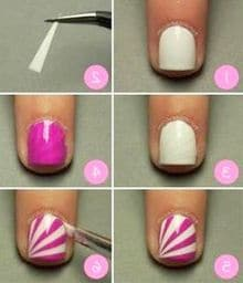 Simple Nail Art image