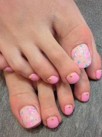 Simple nail art Layout
