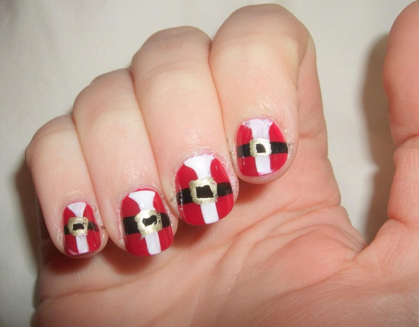 Simple nail art Idea
