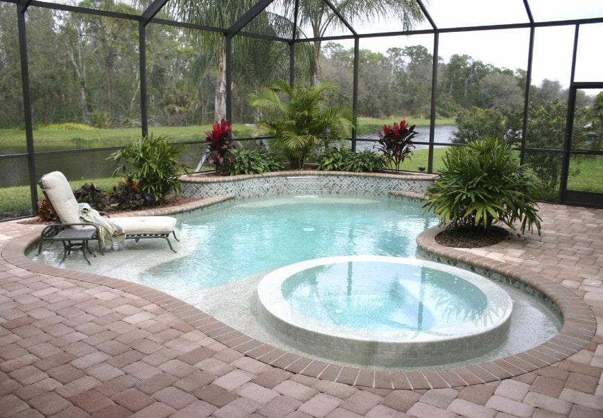Small Ingroud Pool Layout