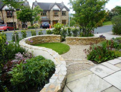 Unique Front Garden Design