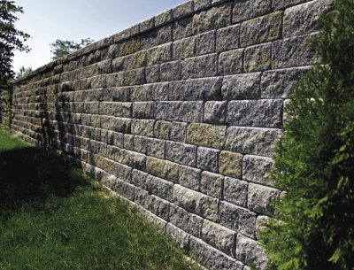 Unique Retaining Wall Picture