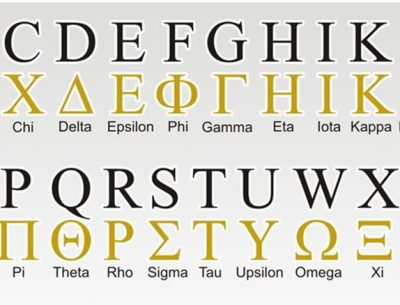 Updated Greek Alphabet Letters And Symbols Image