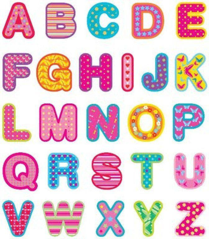 Uppercase Alphabet Letters
