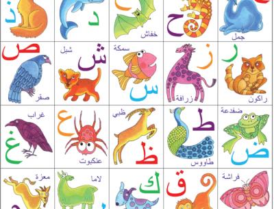 Urdu Alphabet Poster