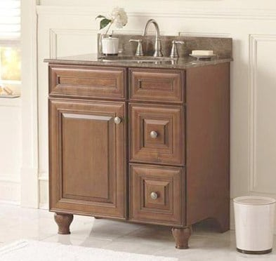 bathroom sink cabinet