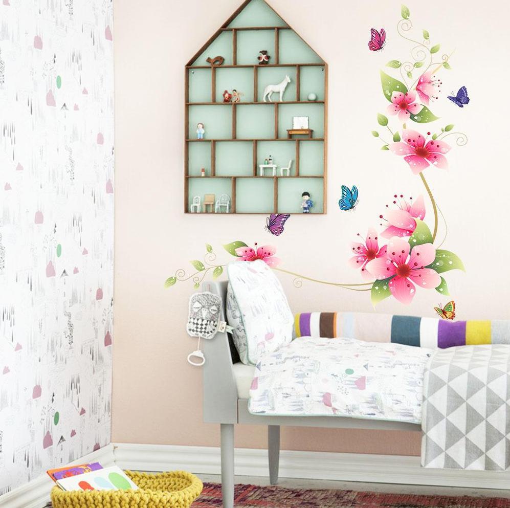 Free Butterfly Wall Decor Idea