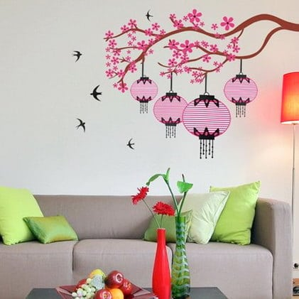 Latest butterfly wall Decor Wallpaper