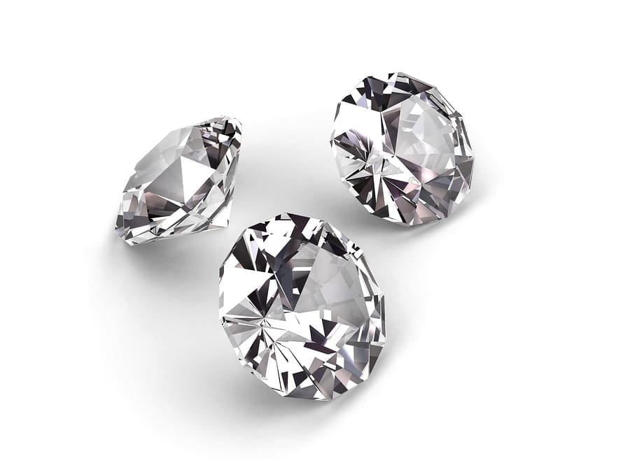 diamond jewelry layout