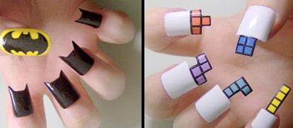 Finger Nail Art wallpaper