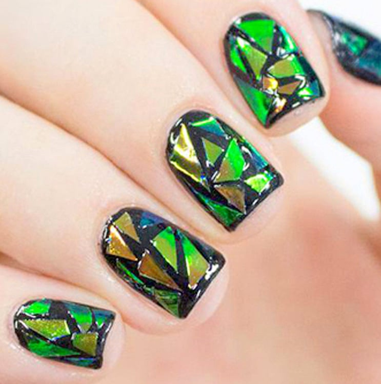 Finger Nail Art Design