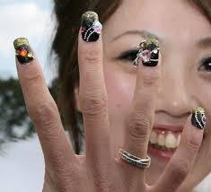 Finger Nail Art layout