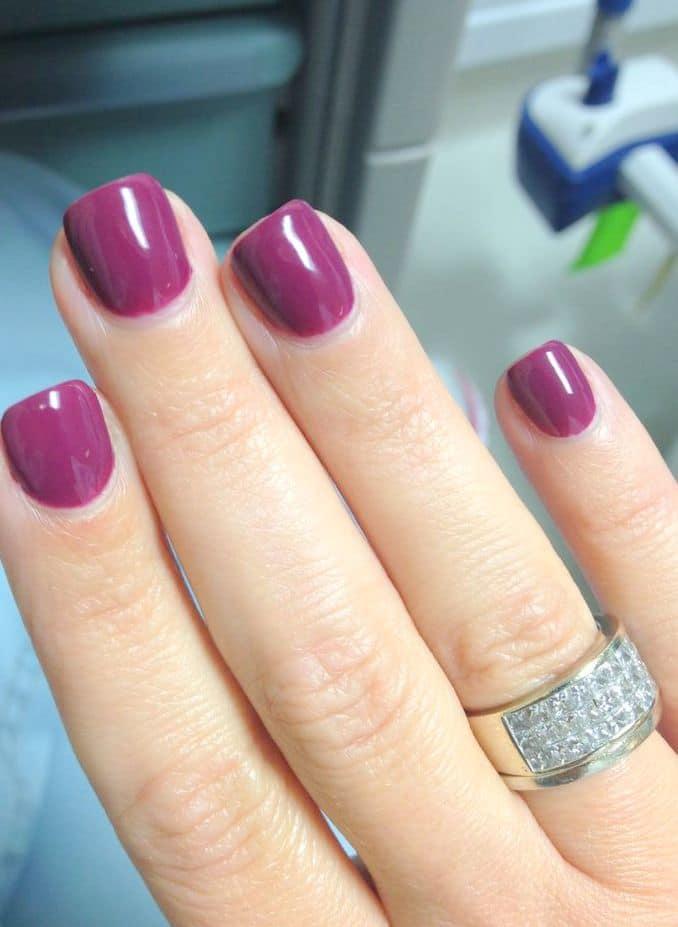 Gel Nails Layout