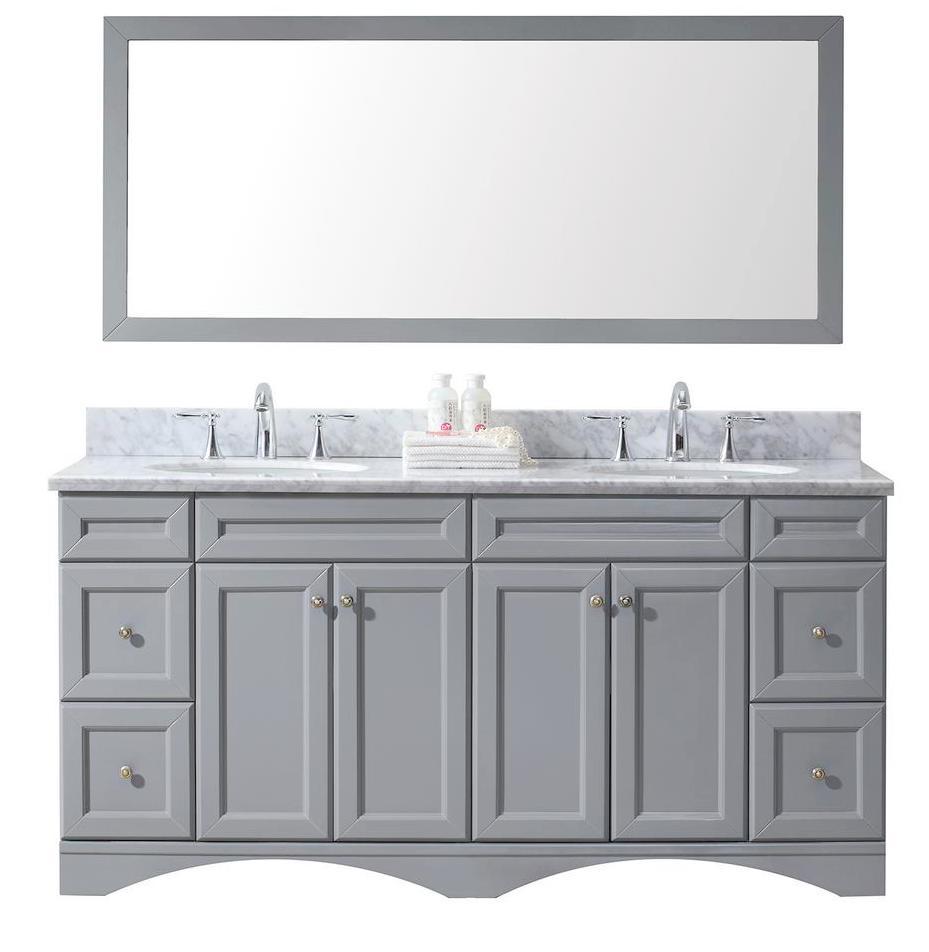grey bathroom vanity