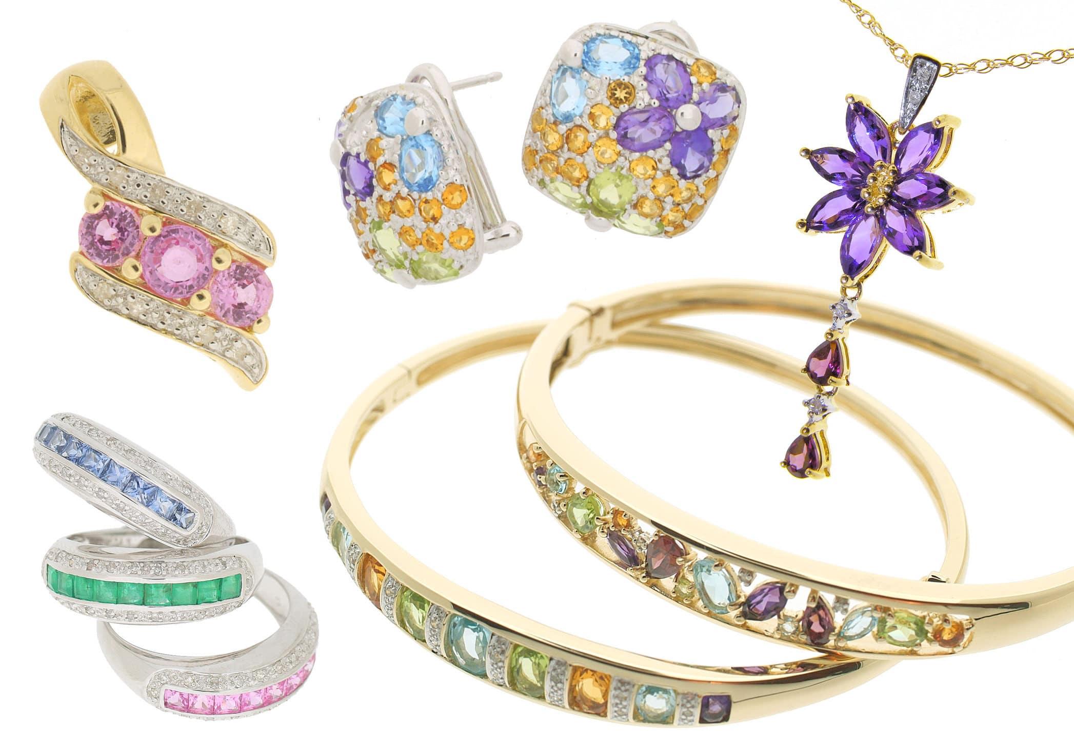 jewelry layout