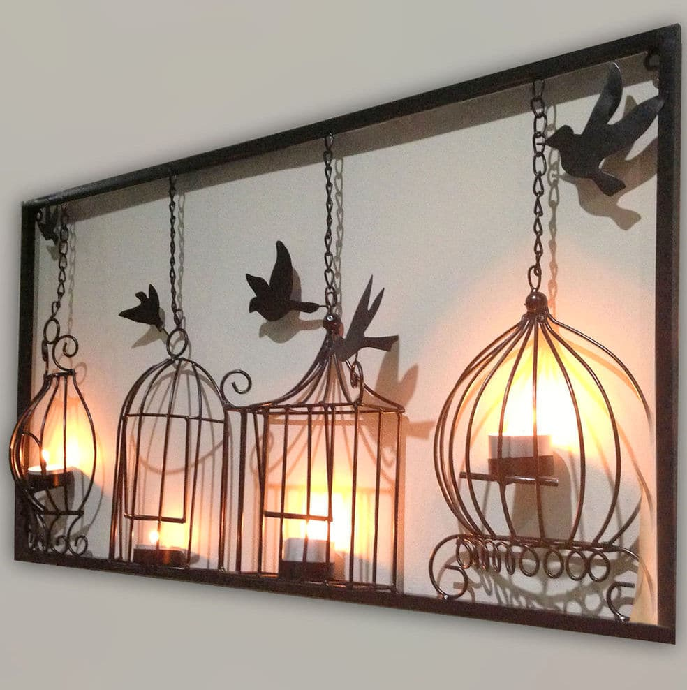 Large Metal Wall Art Design