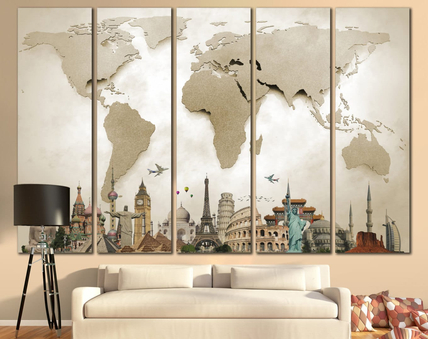 Oversized Wall Art Image