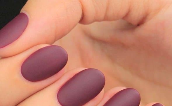 Online Matte Nail Polish Idea
