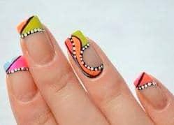 Famous Nail Art Layout