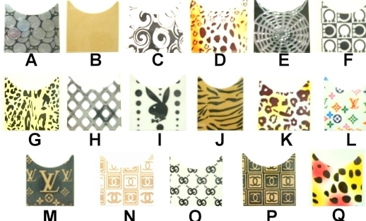 Nail Art stikers wallpaper