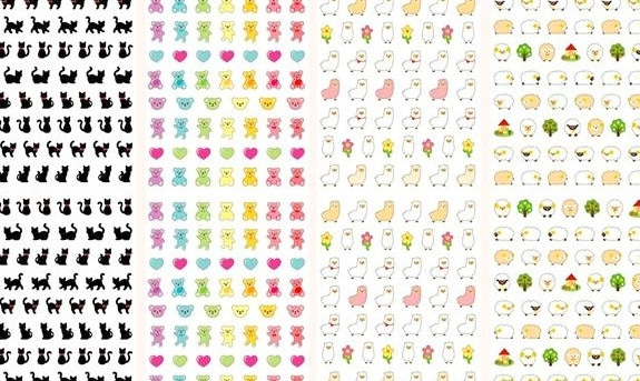 Download Nail Art stikers Layout