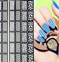 Save Nail Decal Idea