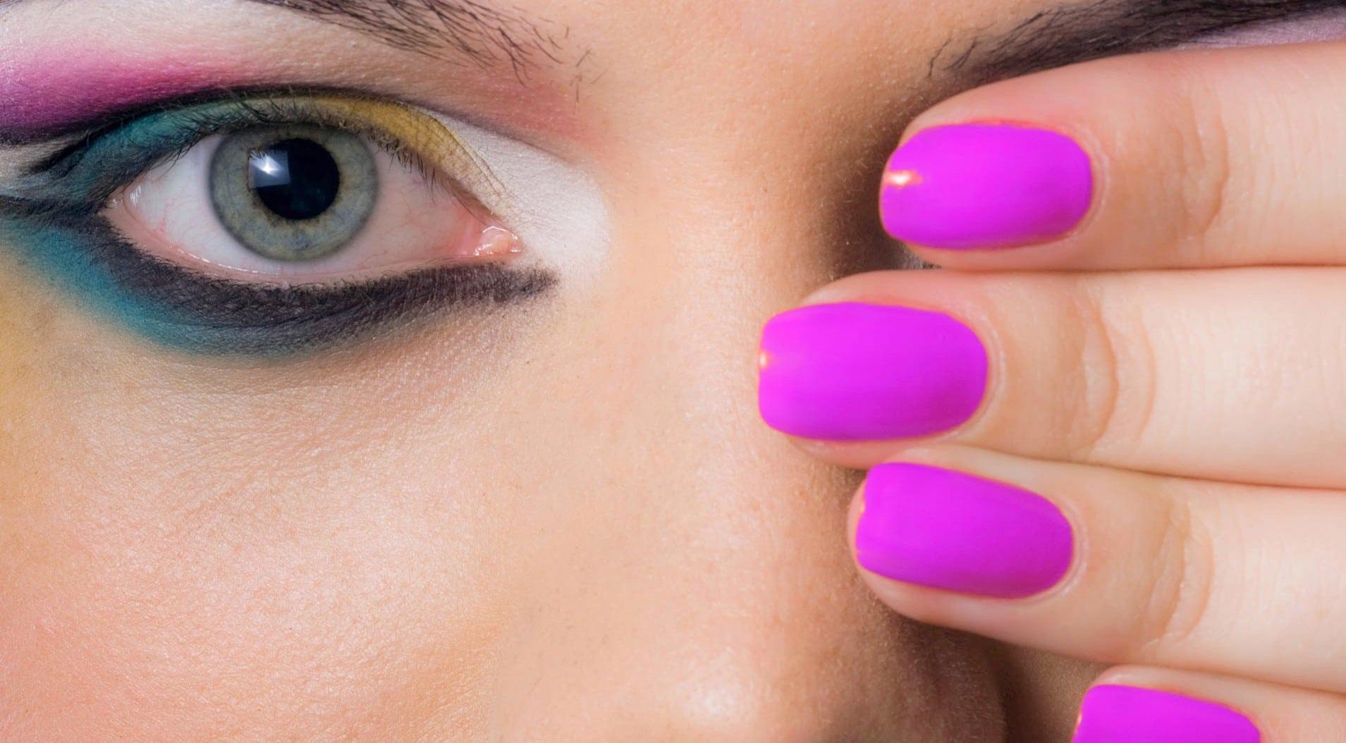 Nail Polish And Nail Paint Design