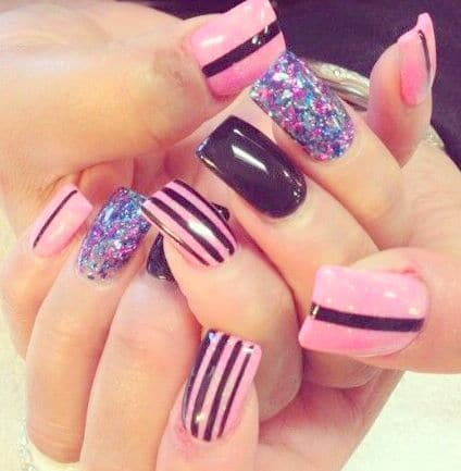 Nail style picture