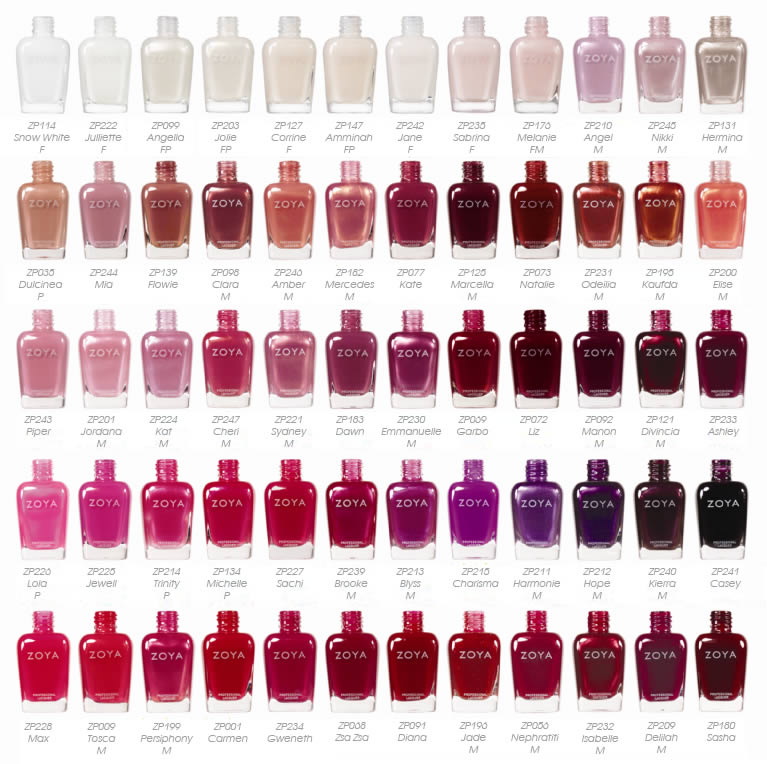 Essie Nail Polish Color Chart Best Nail Imagebrain