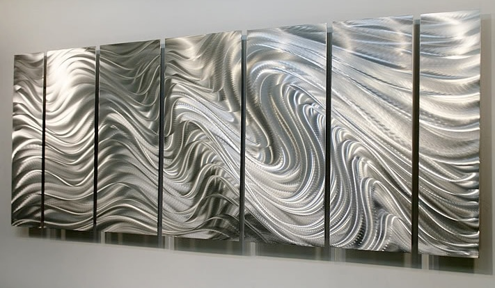 Silver wall Art Design
