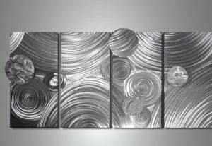 Silver wall Art Layout
