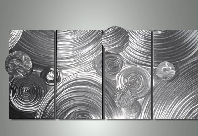 Silver wall Art Layout