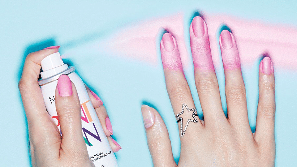 Spray Nail Polish layout