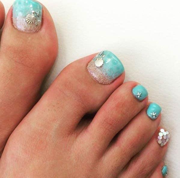 Toe Nail Design image