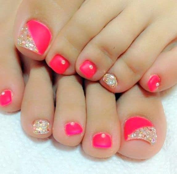 Toe Nail Design Idea