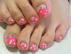 Online Toe Nail Design Idea