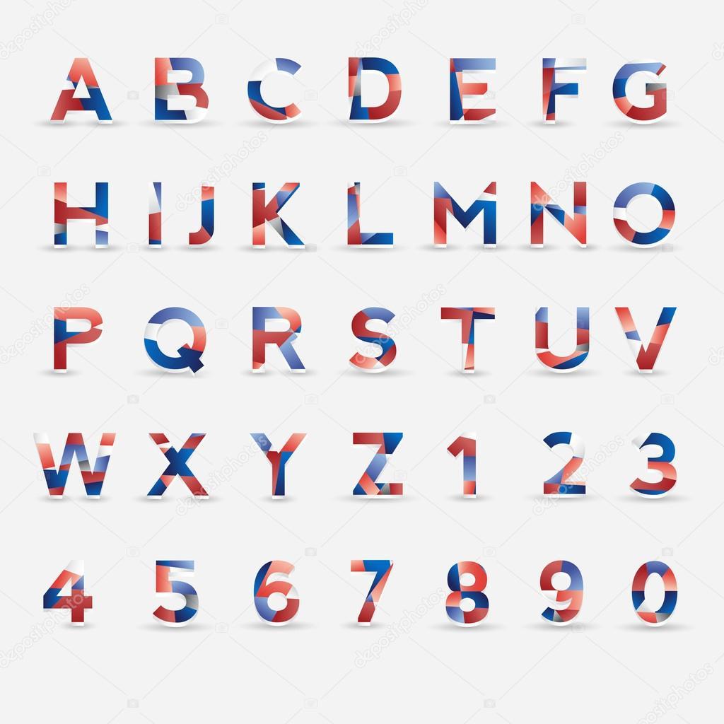 Alfabet Chart
